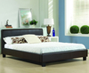 Easton Small Double 4ft Brown Faux Leather Bed