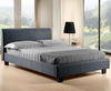 Easton Small Double 4ft Grey Upholstered Bed