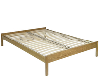 Small Double Frame  - Elgar 4ft Natural Ash Bespoke Wooden Bed Base *Special Offer* natural ash