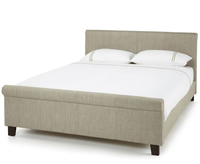 Henri Small Double 4ft Linen Upholstered Bed