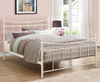 Robinson Small Double 4ft Cream Metal Bed