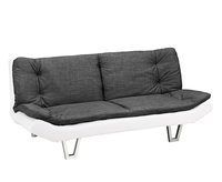Sofa beds  - Rosman Charcoal Fabric 3 Seater Sofa Bed sofa bed
