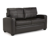 Turin Brown Faux Leather 112cm Sofa Bed