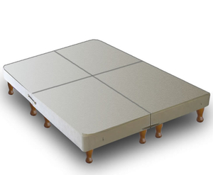 Warwick Small Double 4ft Divan BASE ONLY on Legs - Split into 4 Parts