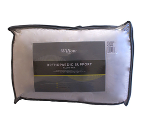Willow Orthopaedic Foam Core Pillow Pair
