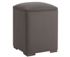 Design Upholstered Storage Cube gem granite beech legs