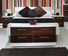 Ebony High Gloss Bed Box white