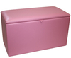 Katelyn Faux Leather and Suede Toy Box faux leather devon
