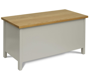 Chests of drawers  - Palterton Belgrave Painted Wooden Ottoman painted finish with windsor oak top