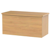 Sherwood Modern Oak Effect Wooden Ottoman
