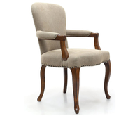 Chairs  - Archer Natural Linen Bedroom Chair