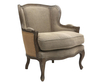 Beatrice Natural Linen Occasional Chair *Special Offer*
