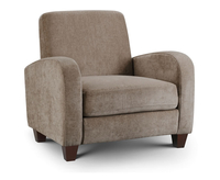 Armchairs  - Bourne Mink Chenille Sofa Chair