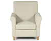 Armchairs Corrigal Cream Fabric Occasional Chair