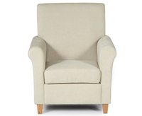 Corrigal Cream Fabric Occasional Chair
