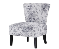 Chairs  - Crawley Floral Fabric Bedroom Chair