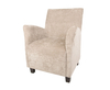 Dakota Mink Fabric Armchair