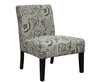 Chairs Drew Amethyst Fabric Bedroom Chair