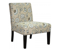Chairs  - Drew Duck Egg Blue Fabric Bedroom Chair