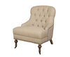 Jeanne Linen Bedroom Chair beige