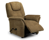 Reva Cappuccino Chenille Rise & Recliner Chair rise and recliner