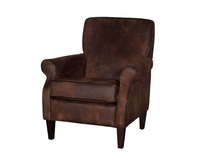 Armchairs  - Robinson Brown Upholstered Armchair