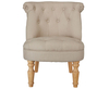 Rutherford Beige Fabric Bedroom Chair