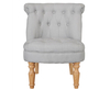 Rutherford Duck Egg Blue Fabric Bedroom Chair