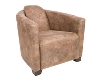 Seattle Bonanza Faux Suede Tub Chair