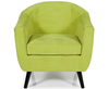 Sydney Green Upholstered Tub Chair