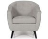 Sydney Grey Upholstered Tub Chair