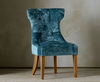 Wisconsin Upholstered Bedroom Chair ari beige cyan