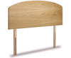 Baron Oak Effect Wooden Headboard small single size - 2ft 6