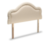 Chloe Traditional Upholstered Headboard small single size - 2ft 6 alton butter