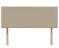 Christine 2ft 6 Sand Gem Fabric Headboard *Special Offer* small single size - 2ft 6 gem sand headboard with struts