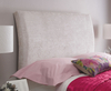 Headboards Contour Upholstered Headboard small single size - 2ft 6 gem beige