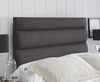 Monza Upholstered Headboard small single size - 2ft 6 gem granite wall mounted fixings