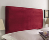 St Tropez Upholstered Floor Standing Headboard small single size - 2ft 6 gem beige