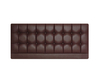 Titan Faux Leather and Suede Headboard small single size - 2ft 6 faux leather chocolate 61cm height - with struts