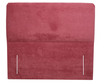 Trio 4ft 6 Rose Velour Floor Standing Upholstered Headboard *Special Offer* double size - 4ft 6 velour rose