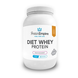 Health & Wellbeing|Food Supplements  - Protein Empire Diet Whey Toffee Caramel Protein Shake 1kg 33 Servings