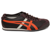Trainers Onitsuka Tiger Mexico 66 Dark Brown/Orange Leather Trainers