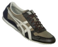 Onitsuka Tiger Ultimate DX Brown/White Trainers