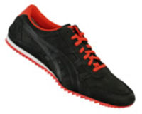 Onitsuka Tiger Ultimate DX LE Black/Red Leather Trainers