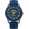 Jewellery Ladies Superdry Tokyo blue silicone strap watch SYL146U