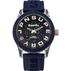 Jewellery Ladies Superdry Tokyo navy Swarovski elements watch SYL174URG