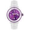 Jewellery Ladies white Ice-Watch 38mm purple dial SI.WV.S.S.11