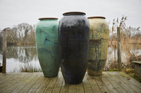 Other  - Haikou 160cm Water Jar In Green