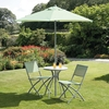 Double Carports Suntime Havana Avocado 4 Piece Garden Bistro Set