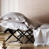 100% French Linen Bundle - Grey - Double (Duvet Cover,  Fitted Sheet - 30cm deep,  Standard Oxford Pillowcase Pair)